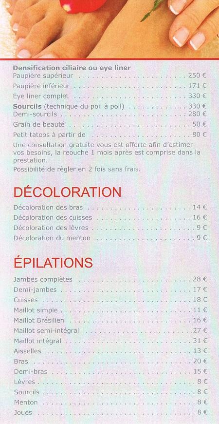 epilation institut de beauté paris 15 harmonie